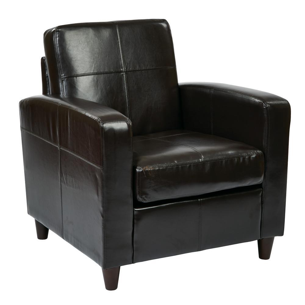 Venus Espresso Club Chair