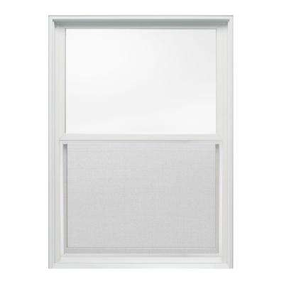 29.375 in. x 40 in. W-2500 Series Double Hung Wood Window - White