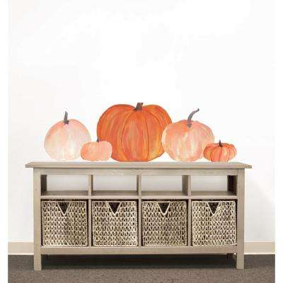 24 in. x 17.5 in. Pumpkins Small Wall Art Kit