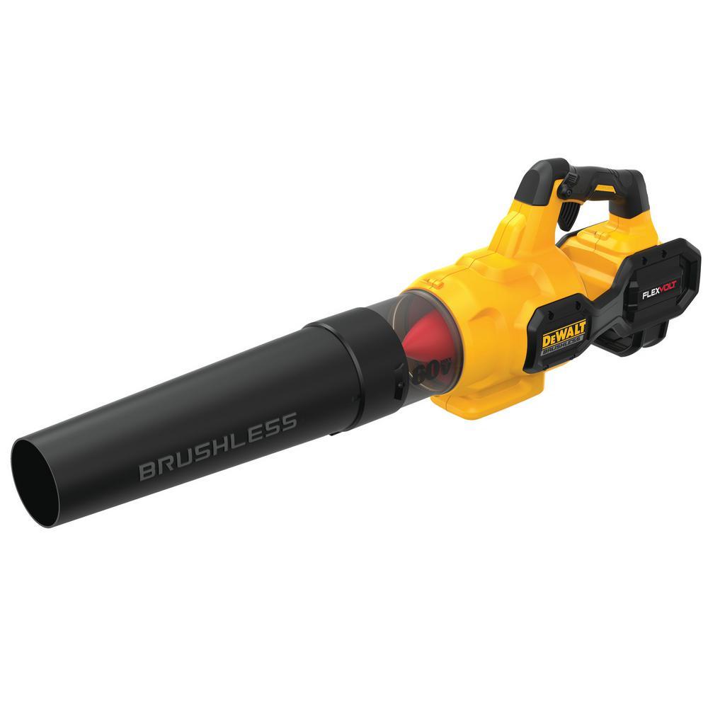DEWALT 125 MPH 600 CFM FLEXVOLT 60-Volt MAX Lithium-Ion Cordless Axial Blower w/ (1) 3Ah Battery and Charger