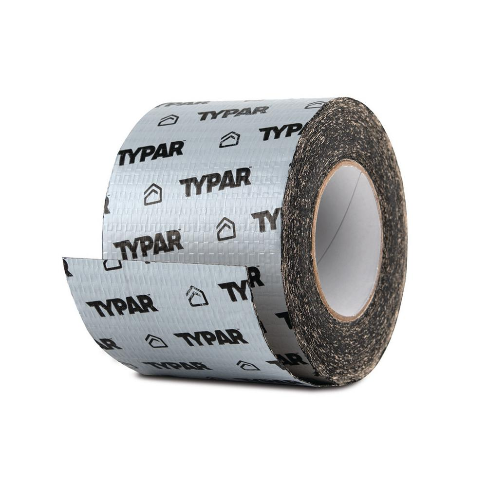 Typar 4 In. X 75 Ft. Butyl Rubber Copolmer Window And Door