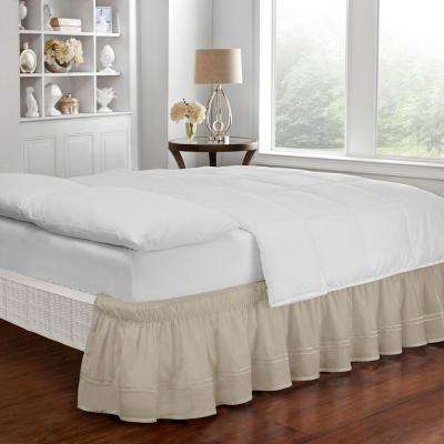 Baratta Camel Twin/Full Bed Skirt