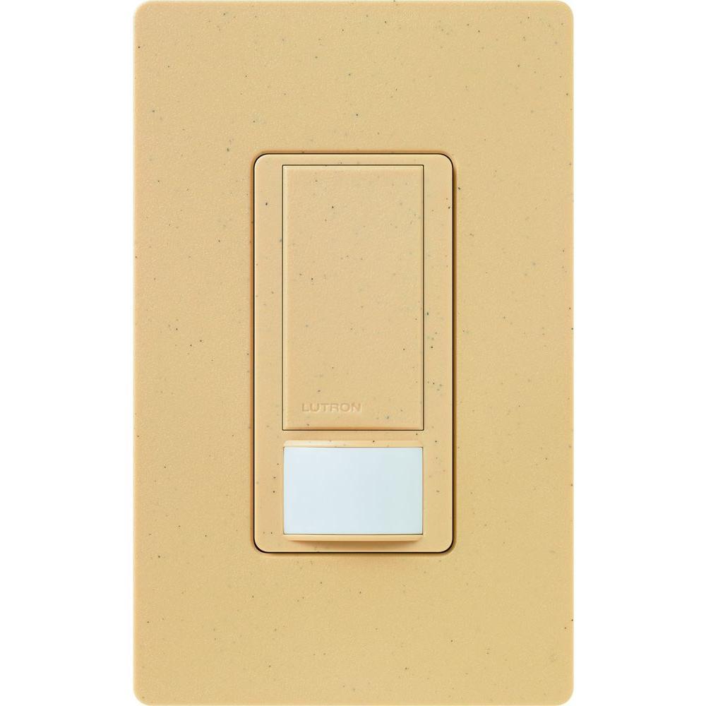 Maestro Vacancy Sensor switch, 2-Amp, Single-Pole, Goldstone
