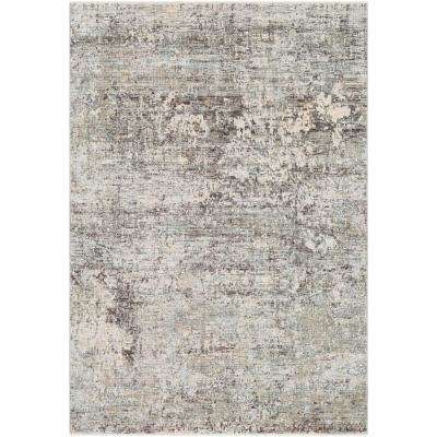 Congressional Grey 11 ft. 6 in. x 15 ft. 6 in. Abstract Area Rug
