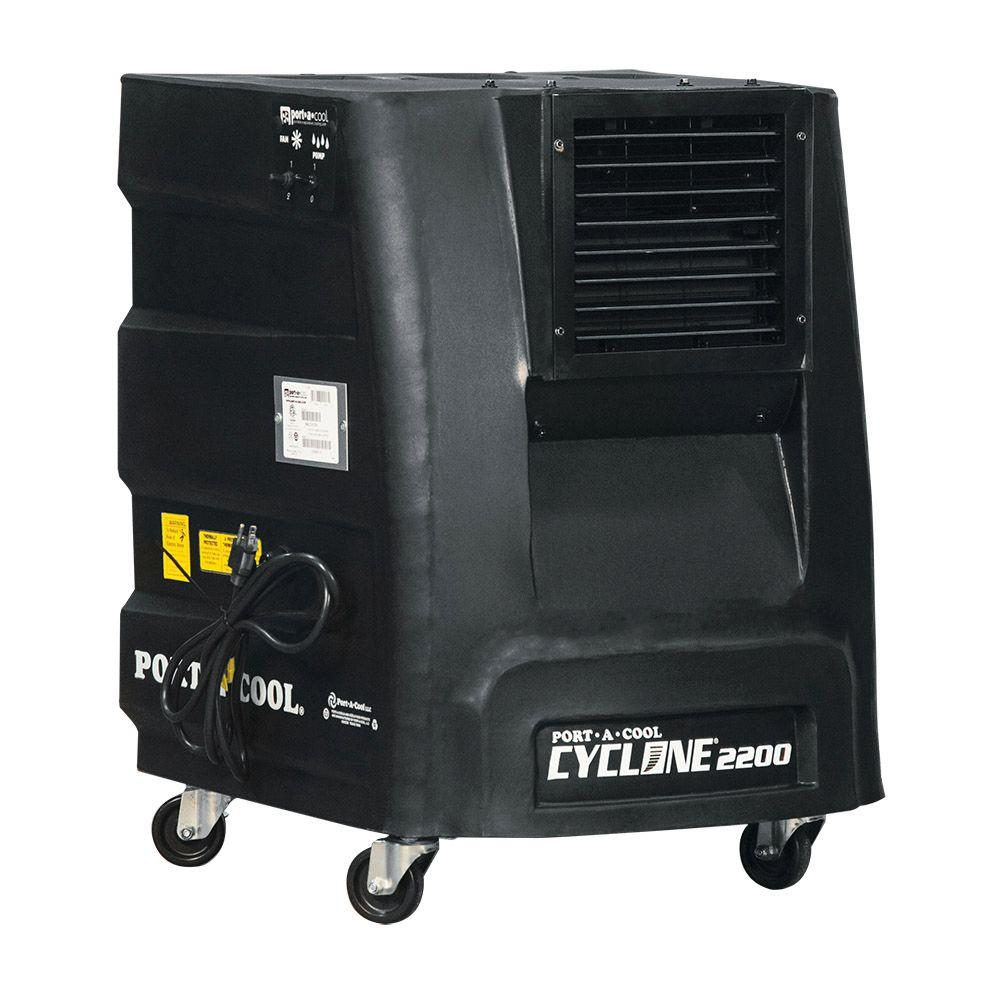 PORTACOOL Cyclone 2200 CFM 2-Speed Portable Evaporative Cooler for 500 sq. ft.
