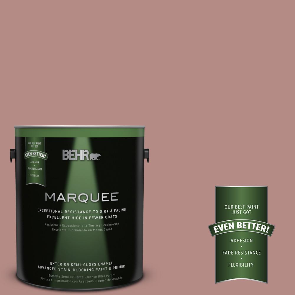 1-gal. #190F-4 Warm Comfort Semi-Gloss Enamel Exterior Paint