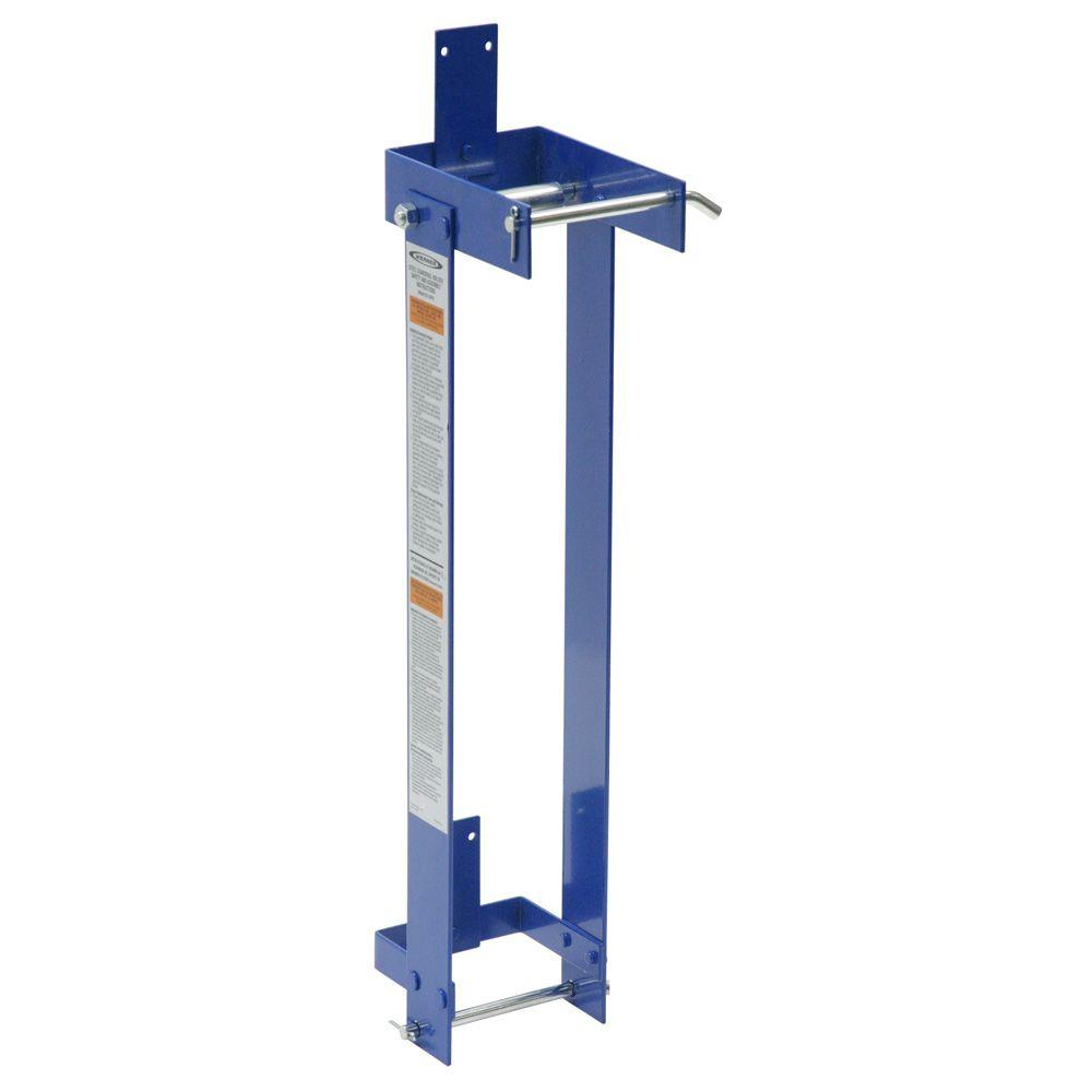 Werner Ladders And Scaffolding : Werner steel guardrail holder spj grh the home depot