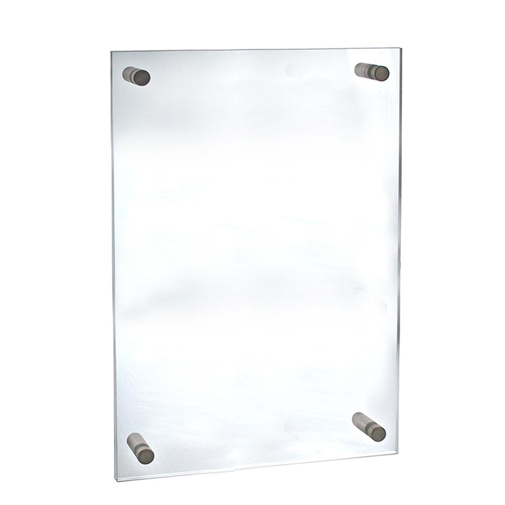 22 in. x 28 in. Standoff Acrylic Sign Holder