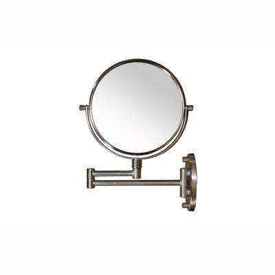 1.5 in. x 13.5 in. Extendable Round X5 Magnify Makeup Mirror