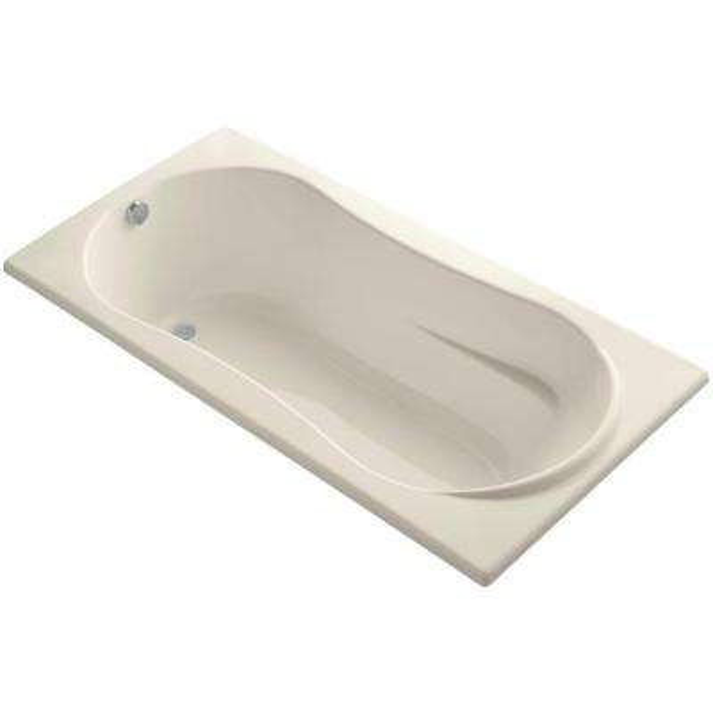 7236 6 ft. Reversible Drain Soaking Tub in Almond