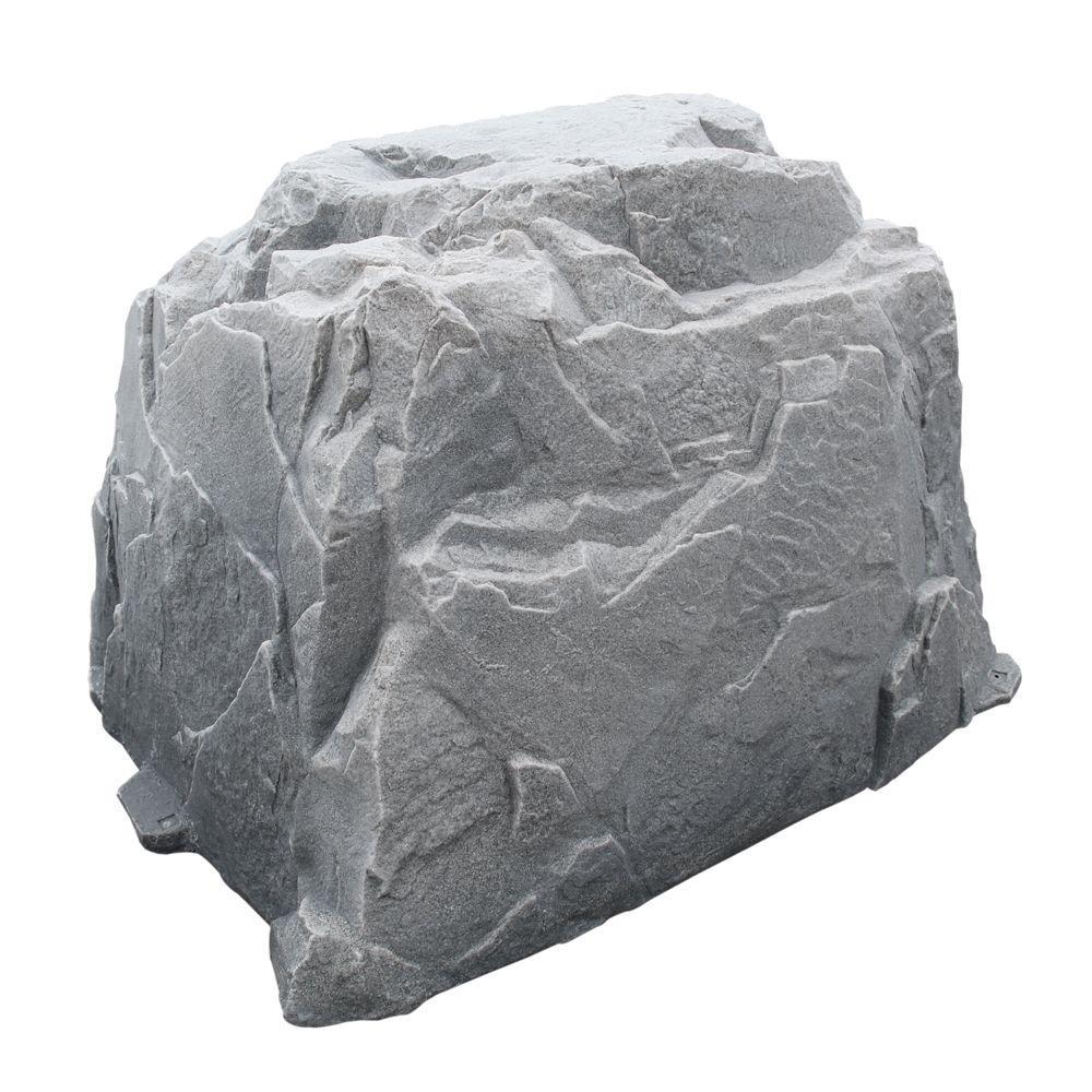 Dekorra 60 in. L x 48 in. W x 41 in. H Extra Large Plastic Cover in Gray