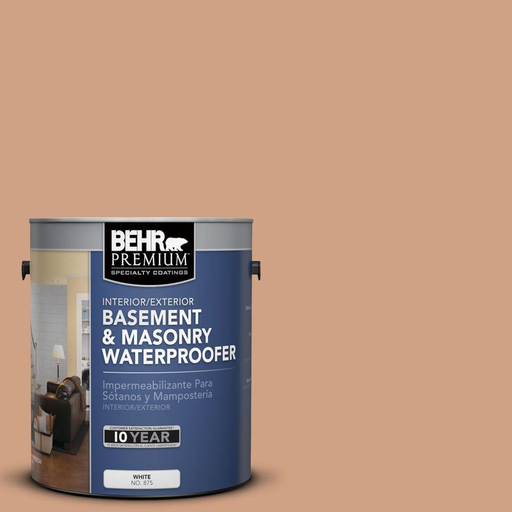 BEHR Premium 1 gal. #BW-52 Terra Sienna Basement and Masonry Waterproofer