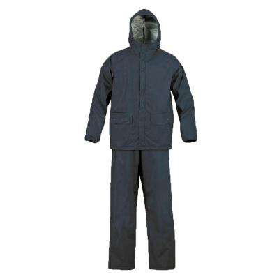 SX Large Navy Blue Rainsuit