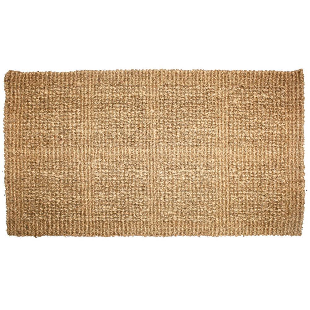 Bon Plain Tile Loop Coco Door Mat