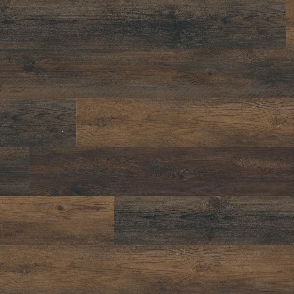 Woodland Walnut Drift 7 in. x 48 in. Rigid Core Luxury Vinyl Plank Flooring (55 cases / 1309 sq. ft. / pallet)