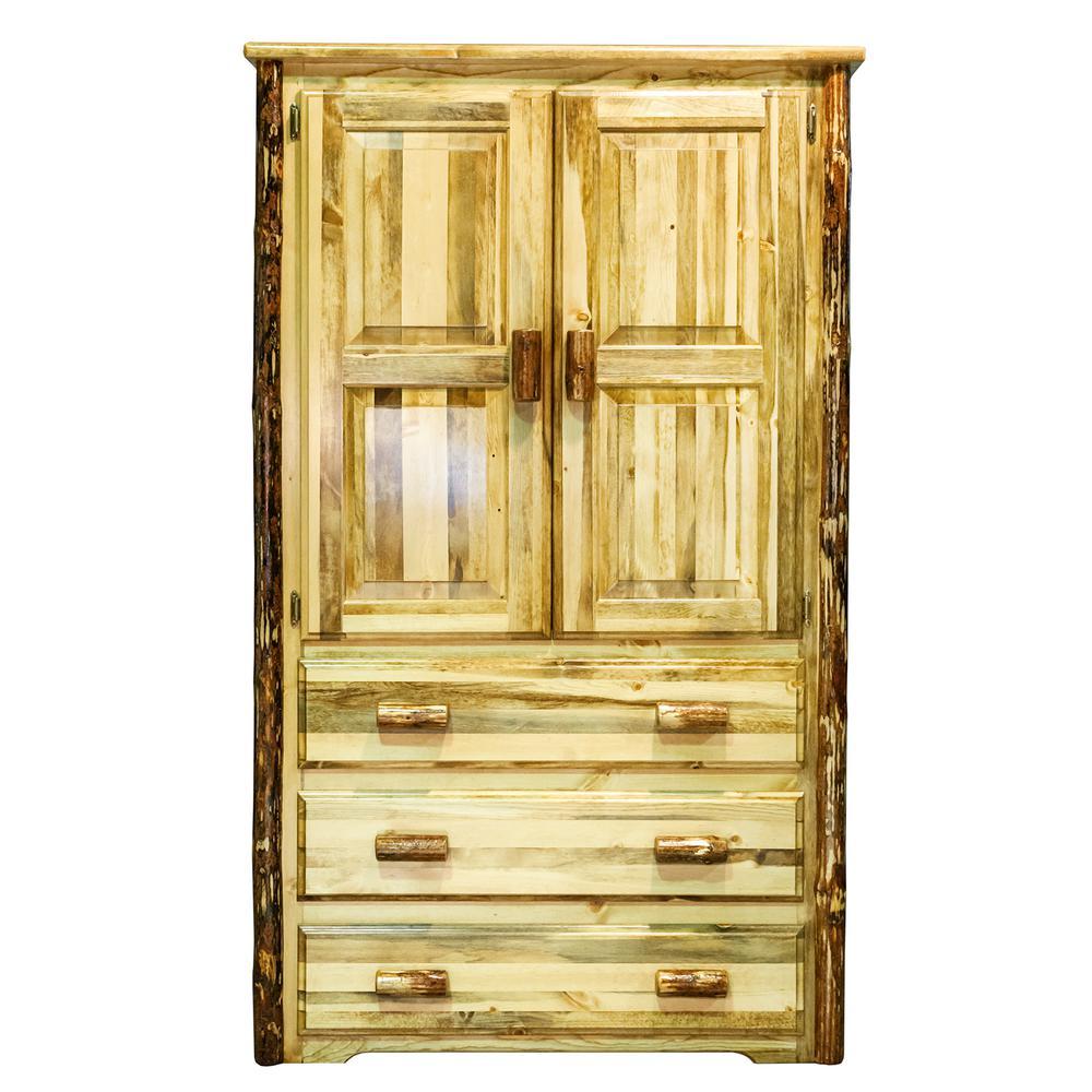 Glacier Country Collection Puritan Pine Storage Furniture