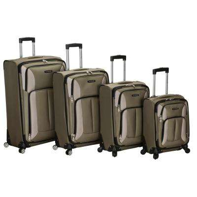 4-Piece Impact Spinner Luggage Set