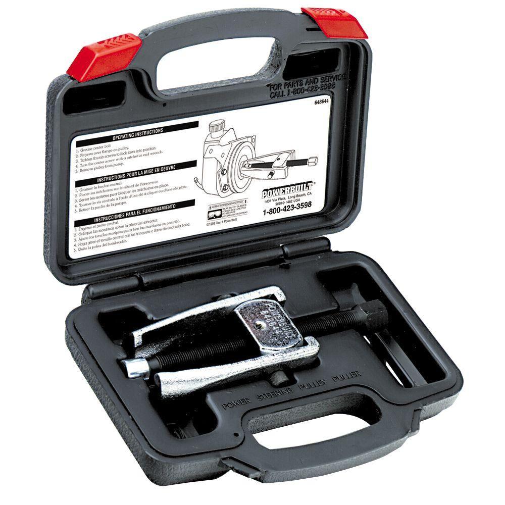 Powerbuilt Power Steering Pulley Puller Kit by Powerbuilt