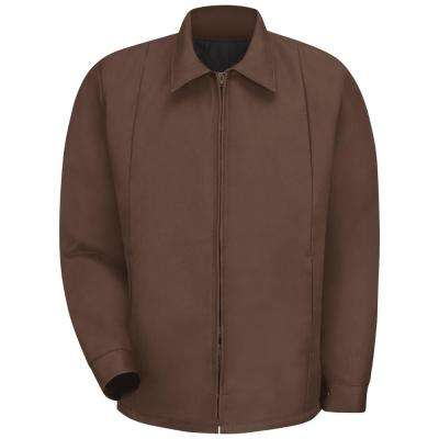 Men's Medium Brown Perma-Lined Panel Jacket