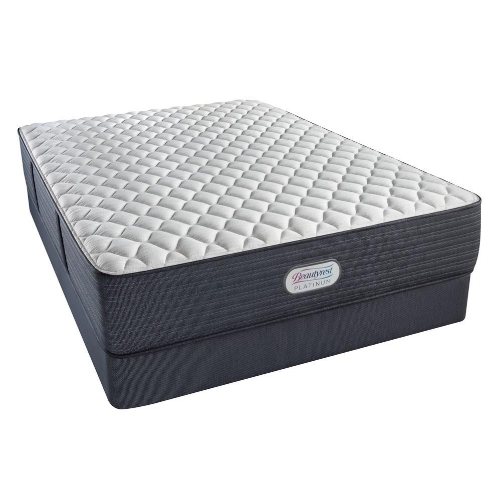 Beautyrest Platinum Spring Grove Extra Firm Twin Mattress Set