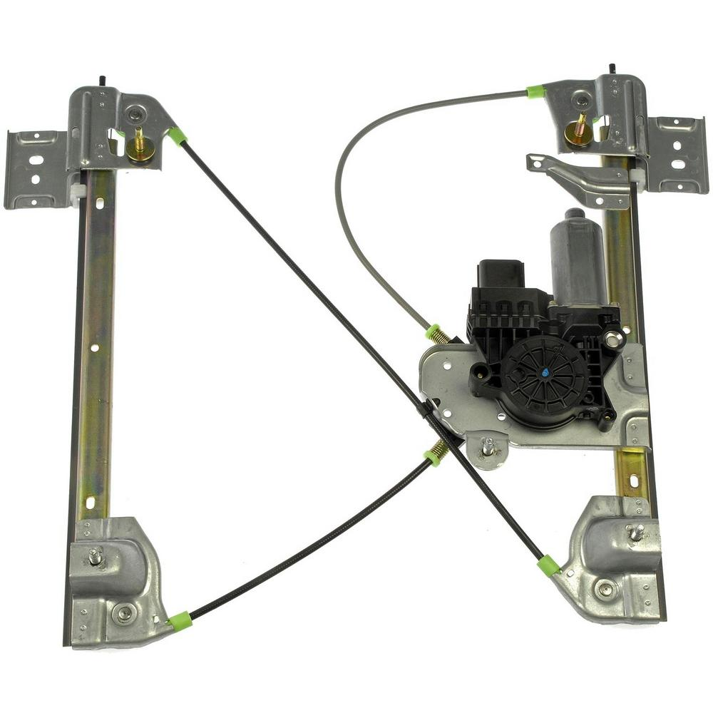 OE Solutions Power Window Regulator And Motor Assembly 2004-2005 GMC Envoy  XUV 4 2L 5 3L