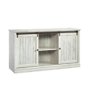 Barrister Lane White Plank 60 in. Entertainment Credenza