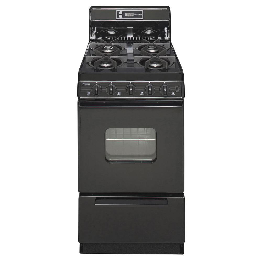 Premier 20 in 242 cu ft Freestanding Gas Range with Sealed