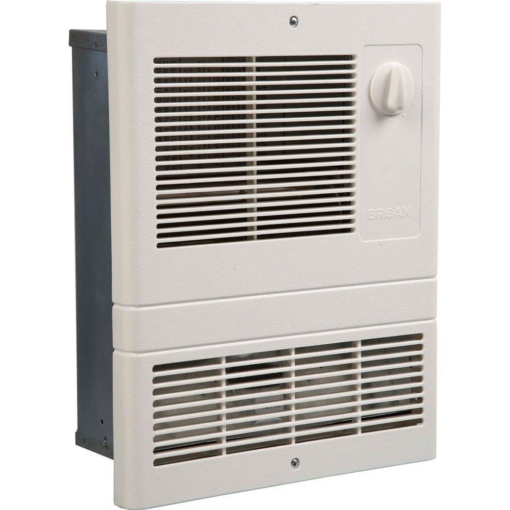 11-9/16 in. 1000-Watt 120/240V High Capacity Fan-Forced Wall Heater