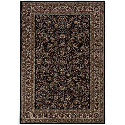 Westminster Black 5 ft. x 8 ft. Area Rug