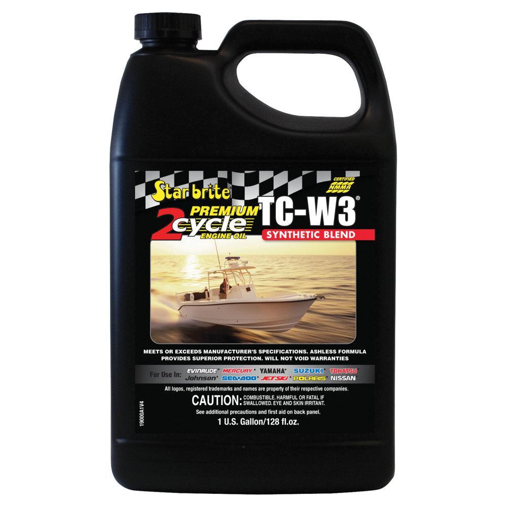 1 Gal. Super Premium 2-Cycle Engine Oil TC-W3 Case