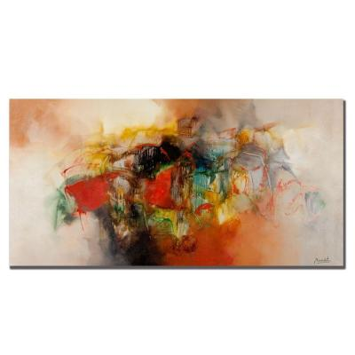 24 in. x 47 in. Abstract VI Canvas Art