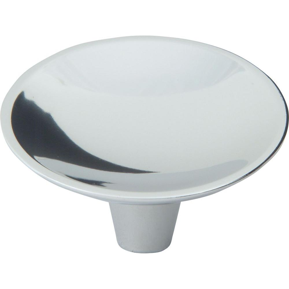 Dap Collection 2 in. Polished Chrome Round Cabinet Knob