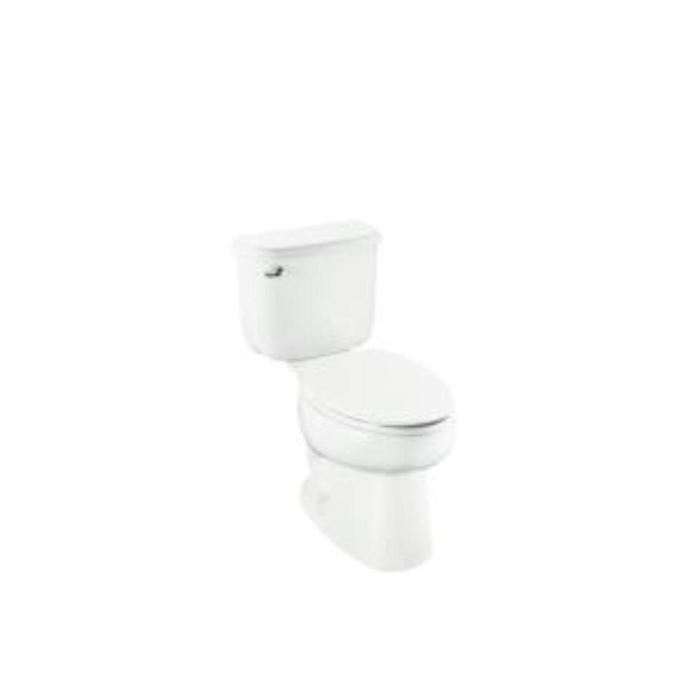 STERLING Windham 2-Piece High-Efficiency Elongated Toilet in Biscuit