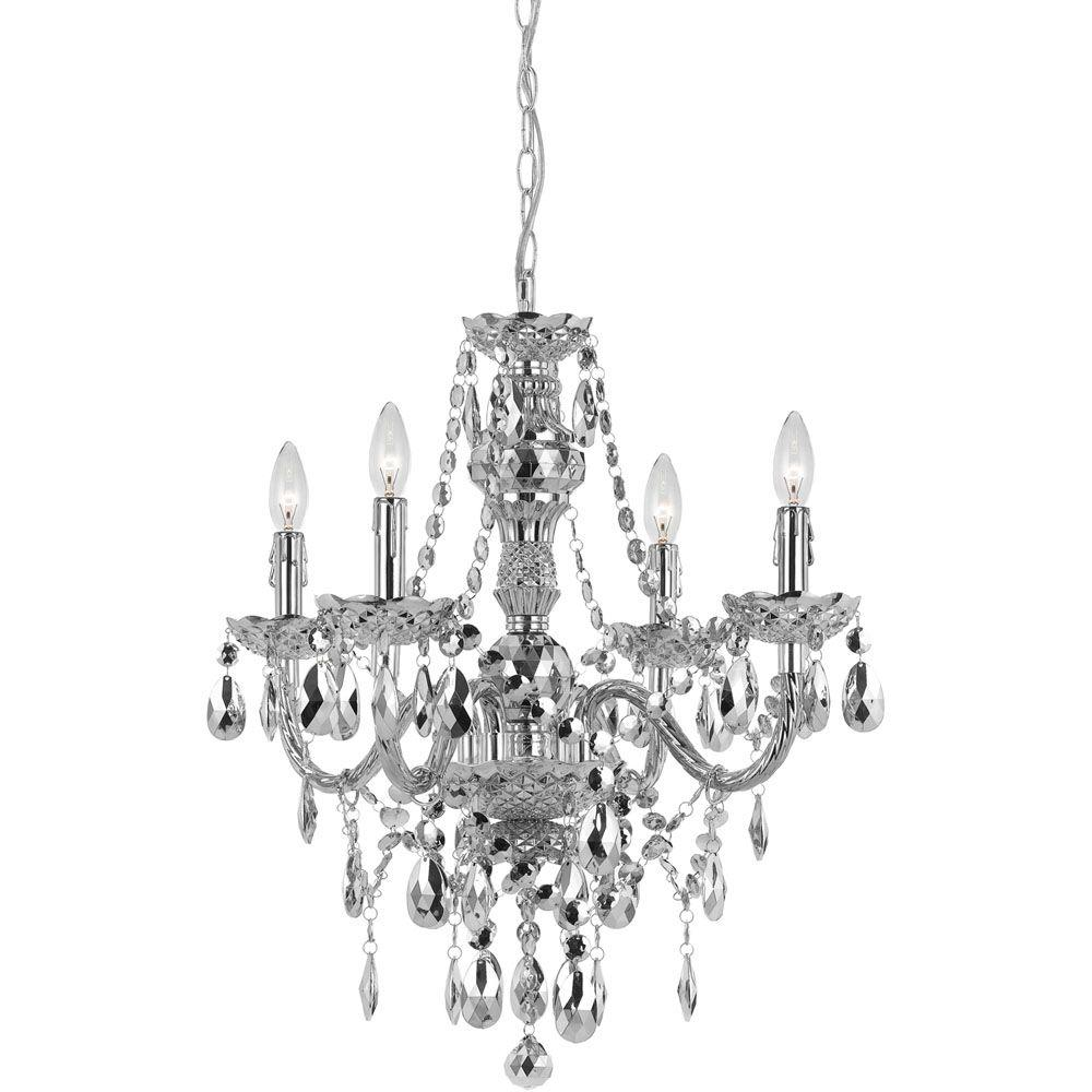 Af lighting naples 4 light clear mini chandelier 8350 4h the home this review is fromnaples 4 light silver mini chandelier with plastic bead accents aloadofball Gallery