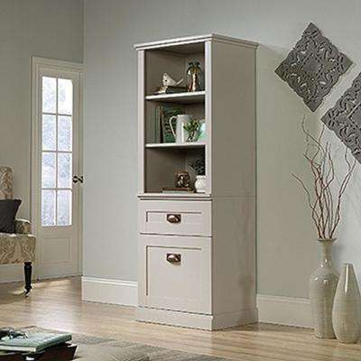 New Grange Cobblestone 1-Drawer 1-Door Open Bookcase