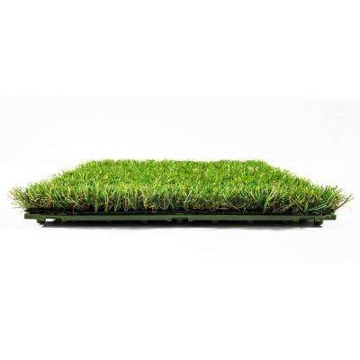 Artificial Grass Interlocking Tiles 1 ft. x 1 ft. (9/case)