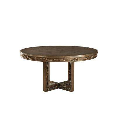 Orianne Antique Gold Dining Table