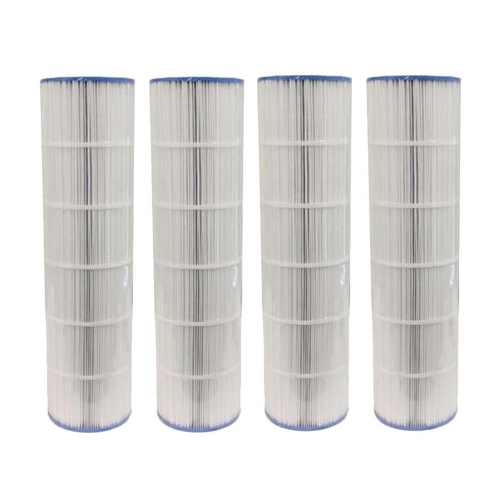 7 in. Dia 106 sq. ft. Pool Replacement Filter Cartridge (4-Pack)