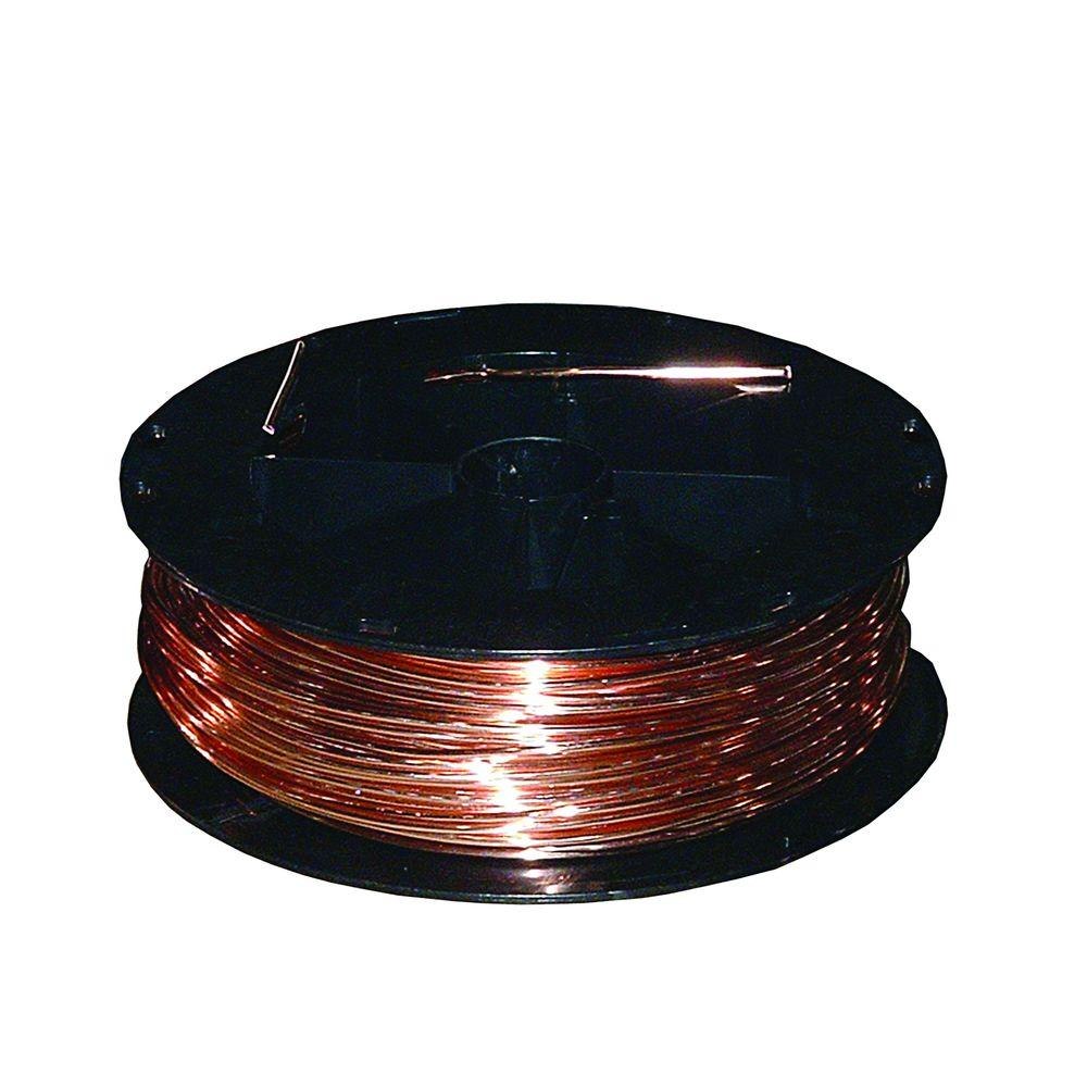 Copper Electrical Wire : Southwire ft gauge solid sd bare copper