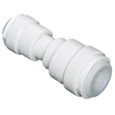 Quick Connect 1/2 in. x 3/8 in. Plastic Coupling