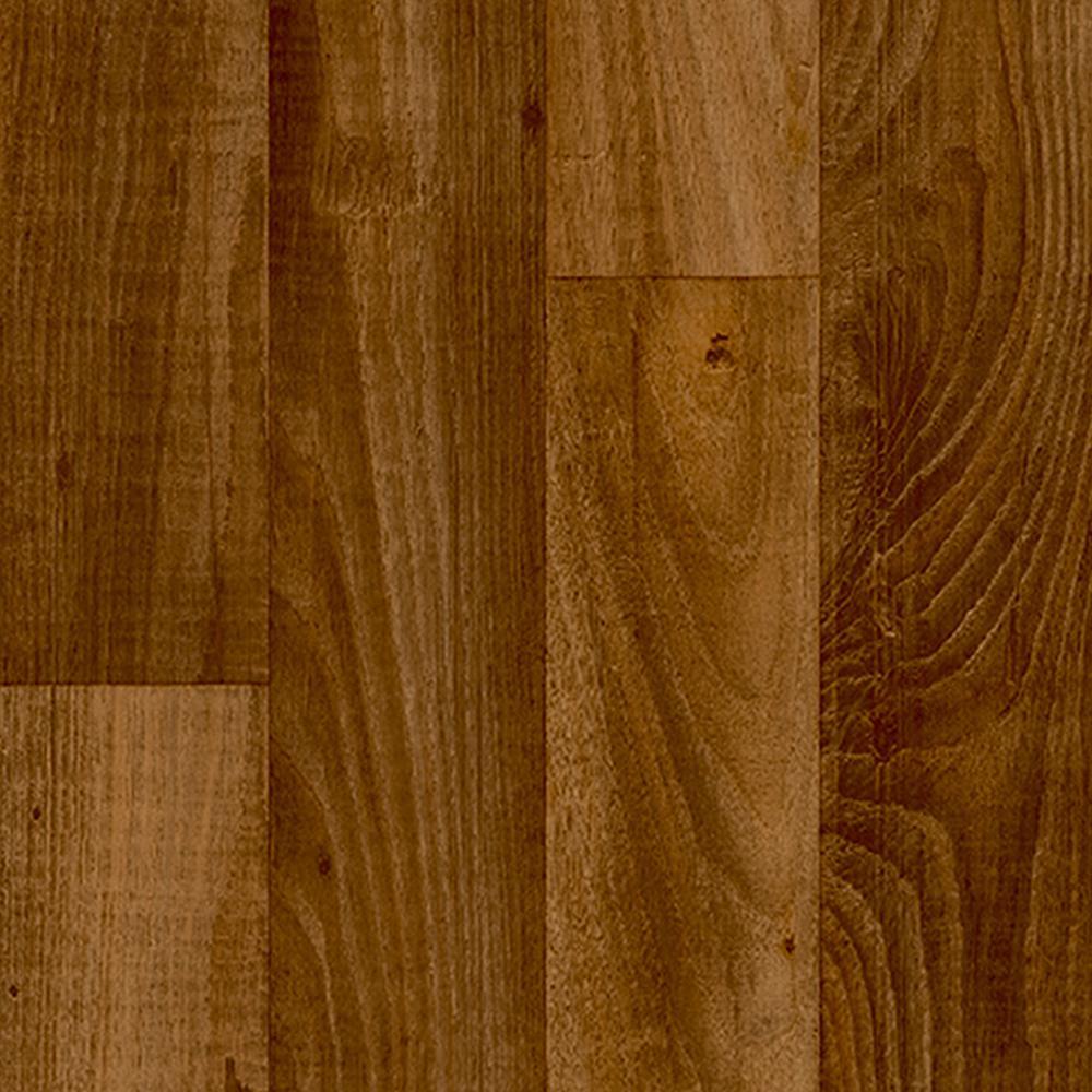 Smokehouse Oak Honey 13.2 ft. Wide x Your Choice Length Residential Vinyl Sheet Flooring