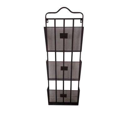 3-Tiers Metal Wall Storage Rack