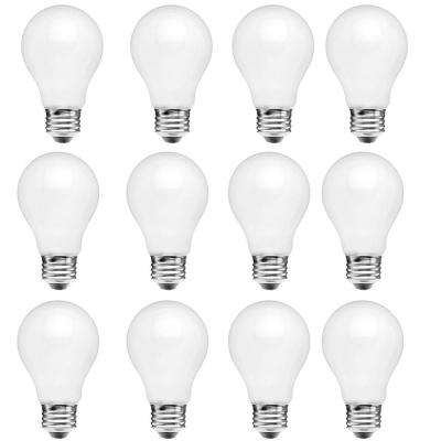 40-Watt Equivalent A15 Dimmable Energy Star Frosted Filament LED Light Bulb Daylight (12-Pack)