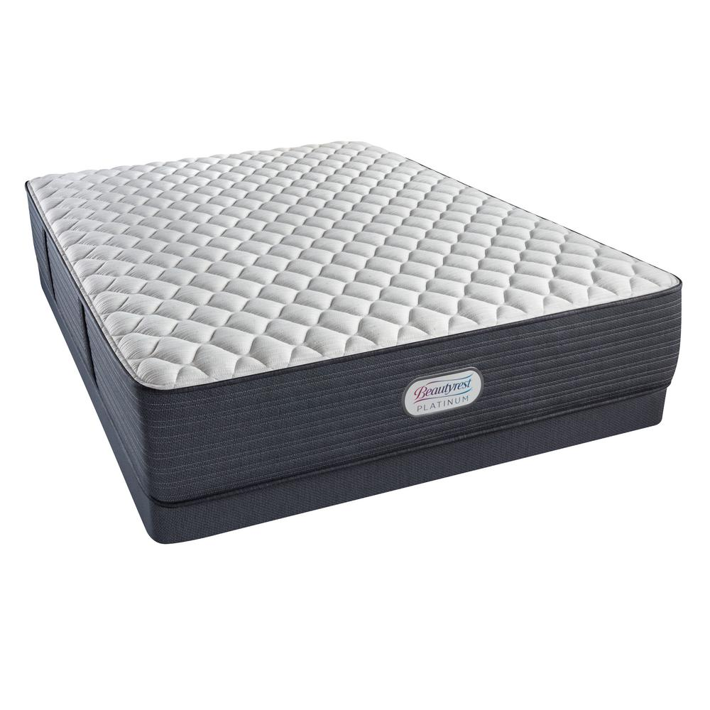 Platinum Spring Grove Extra Firm Queen Low Profile Mattress Set