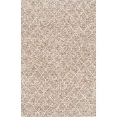 Fuji Light Gray 8 ft. x 10 ft. Indoor Area Rug