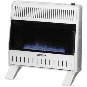 Reddy Heater 30,000 BTU Blue Flame Dual-Fuel Wall Heater with Blower by Reddy Heater