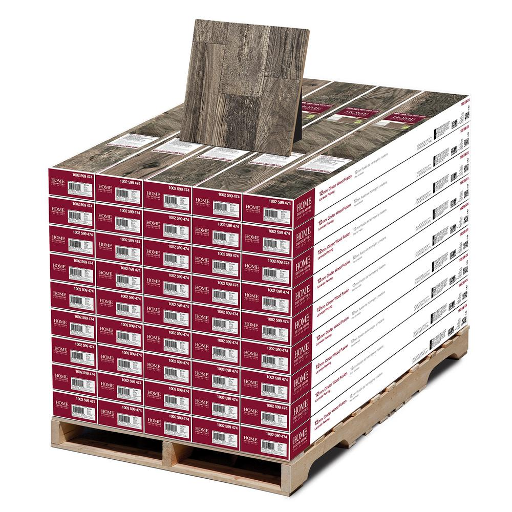 Home Decorators Collection Cinder Wood Fusion 12 Mm Thick X 6 3 16 In