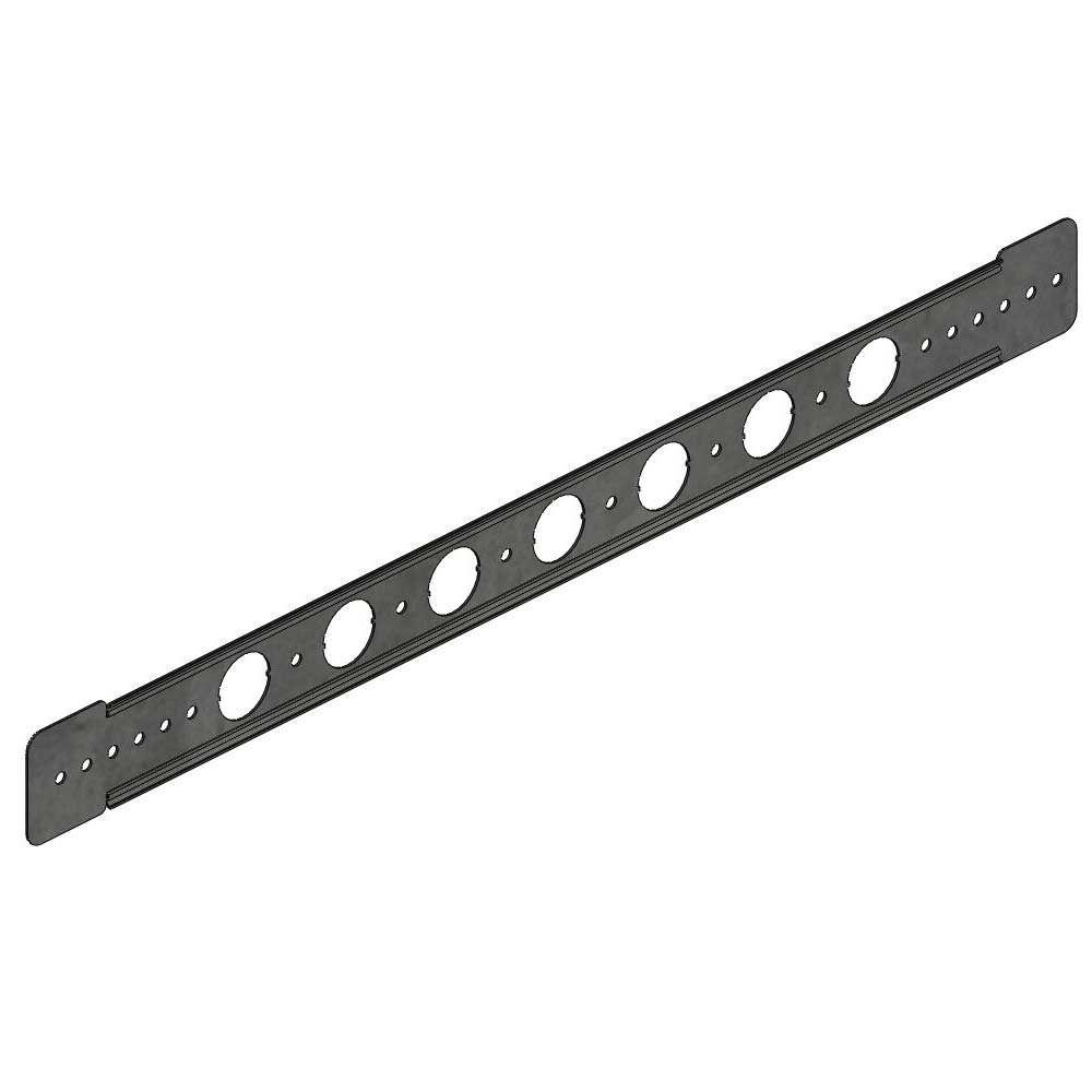 Holdrite in galvanized steel bracket to support cpvc