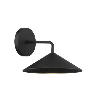 City Streets 1-Light Sand Coal LED Outdoor Wall Mount Sconce