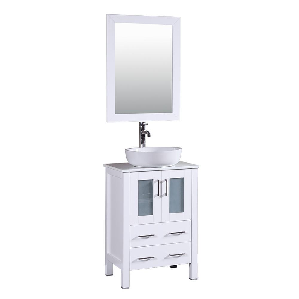Single Sink - Vanities with Tops - Bathroom Vanities - The Home Depot